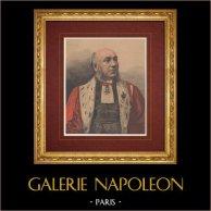 Portret Samuel Périvier (1828-1902) - Sędzia - Sąd Apelacyjny - Paryż