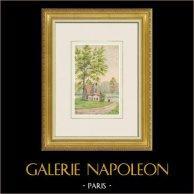 Palace of Versailles - Petit Trianon - The Queen's Hamlet - Rectory - 1871 - Île-de-France