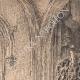 DÉTAILS 01   Vue de Rouen - Eglise Abbatiale Saint Maclou - Orgue - Escalier Gothique (France)