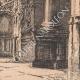 DÉTAILS 06   Vue de Rouen - Eglise Abbatiale Saint Maclou - Orgue - Escalier Gothique (France)