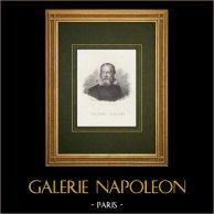 Porträtt av Galileo Galilei (1564-1642)