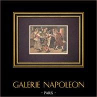 Malerei - La Main chaude - Ferdinand Roybet - Salon de 1894