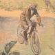 DÉTAILS 06 | Aérostation - Ballon dirigeable et Cyclisme - 1894
