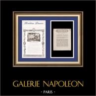 Dekret der Nationalkonvent - 1793 - Französischen Revolution