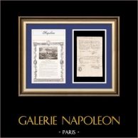 Napoleon - The Consulate - 1802 - Bordeaux - Amnesty Granted to a Deserter