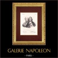 Portraits - Louis-Jules Mancini-Mazarini (1716-1798) - Jules Mazarin (1620-1661)