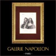 Portraits - Maréchal de Bourdillon (1505-1567) - Guillaume de Lamoignon (1617-1677)