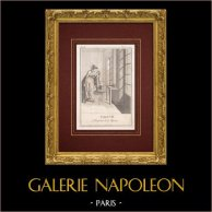 Fables of La Fontaine - The child and the mirror