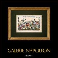 Napoleão Bonaparte - Batalha de Austerlitz - Davoust, Lannes, Murat (1805)
