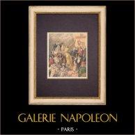 Tradition - Promenade de la Vache enragée - Carnival of Paris - Montmartre - Parade (1896)