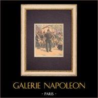 The Republican Guard - Drum major - France - XIXth Century