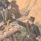DÉTAILS 04 | Chasseurs alpins - Manoeuvres de montagne dans les Vosges - XIXème Siècle