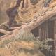 DÉTAILS 05 | Chasseurs alpins - Manoeuvres de montagne dans les Vosges - XIXème Siècle