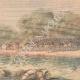 DÉTAILS 03 | Exercice militaire - La Cavalerie traverse la rivière - XIXème Siècle