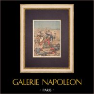Algeria - French Colonization - Death of Auguste Collot (1896)