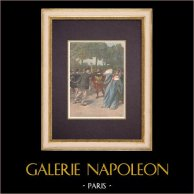 Drama Quai de la Râpée - Clémentine Lefevre Gewond Door Charles Péaul (1899)