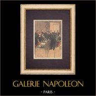 Affare Dreyfus - Consiglio di guerra - Alphonse Bertillon (1899)
