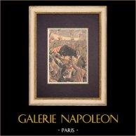 Corrida trágica en los alrededores de Paris (1899)