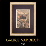 Tragiczna Corrida na Terenie Paryża (1899)