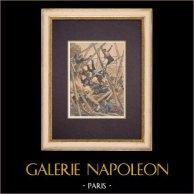 Acidente - Exposição Mundial Paris - Construçãoes (1899)