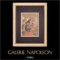ángel - Alegoría - Caridad - Caisse du Secours Immédiat (1899)