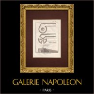 Encyclopédie Méthodique - Płyta 1 - Chaufournier - Piec Wapienny
