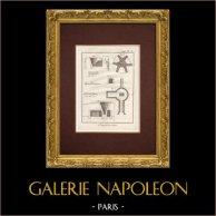 Encyclopédie Méthodique - Płyta 2 - Chaufournier - Piec Wapienny