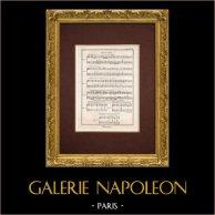 Encyclopédie Méthodique - Planche 3 - Musique - Notation musicale - Anticipation