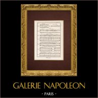 Encyclopédie Méthodique - Lámina 6 - Música - Notación musical - Cesure