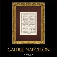 Encyclopédie Méthodique - Lámina 8 - Música - Notación musical - Dissonanza