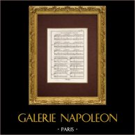 Encyclopédie Méthodique - Plate 7 - Music - Musical notation - Harmony