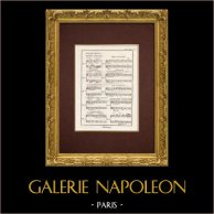 Encyclopédie Méthodique - Lámina 9bis - Música - Notación musical