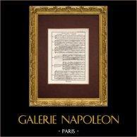 Encyclopédie Méthodique - Plate 10bis - Music - Musical notation