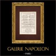 Encyclopédie Méthodique - Plate 11 - Music - Musical notation