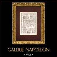 Encyclopédie Méthodique - Plate 11bis - Music - Musical notation