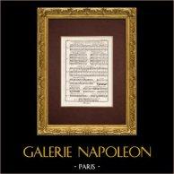 Encyclopédie Méthodique - Lámina 12 - Música - Notación musical