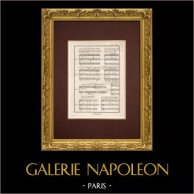 Encyclopédie Méthodique - Lámina 16 - Música - Notación musical