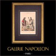 Francuska Moda i Kostiumy - Galowie - Mieszkaniec Gallia Belgica - Druid