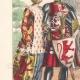 DETALLES 02 | Moda Francesa y Trajes - Siglo XIII - Escudero del Rey - Beatrice de Borgoña