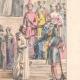 DETALLES 04 | Moda Francesa y Trajes - Siglo XIII - Escudero del Rey - Beatrice de Borgoña