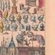 DÉTAILS 04   Art Français - XVème Siècle - Meubles - Armes - Architecture
