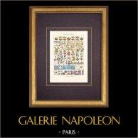 Couronnes - Ordres honorifiques - Drapeaux - De Robert le Pieux à Louis-Philippe
