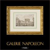 Napoleonic Wars - Napoleon entered in Milan (1796)