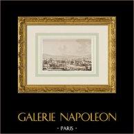 Napoleão visita as obras da sede de Dantzig - Marechal Lefebvre (1807)