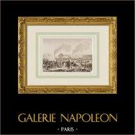 Napoleonic Wars - Battle of Ratisbon or Regensburg - Napoleon was wounded (1809)