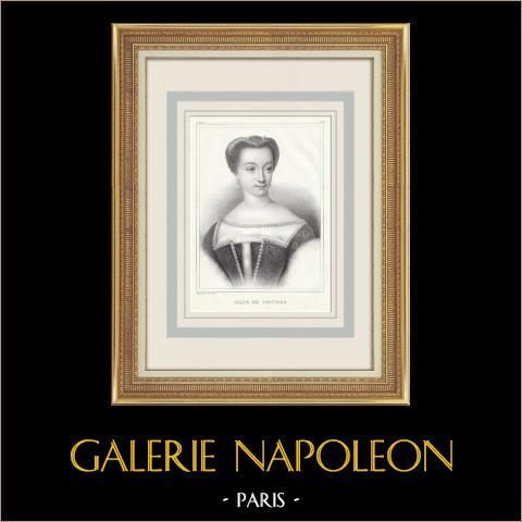 Portret Diane de Poitiers (1500-1566) |