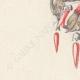 DÉTAILS 02 | Dessin Préparatoire - Joaillerie - Bijou N°157