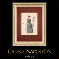 Modedrucke - Paris - La Couturière - 1888 - Modèle 350