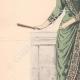 DÉTAILS 02 | Gravure de Mode - Paris - La Couturière - 1888 - Modèle 350