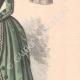 DÉTAILS 04 | Gravure de Mode - Paris - La Couturière - 1888 - Modèle 350